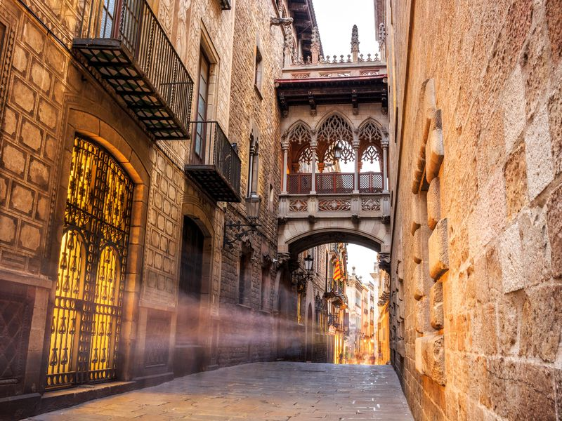 Онлайн-прогулка по Барселоне: парк Цитадели, Эль Борн и Готический квартал