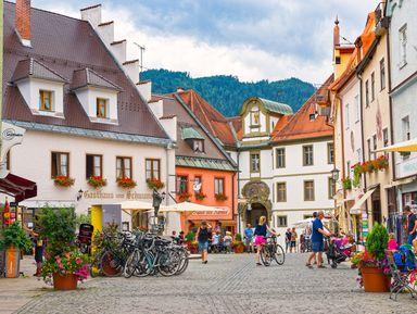Фюссен — романтическая душа Баварии