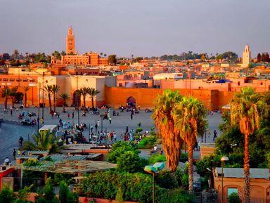 Обзорные и тематические экскурсии в городе Марракеш