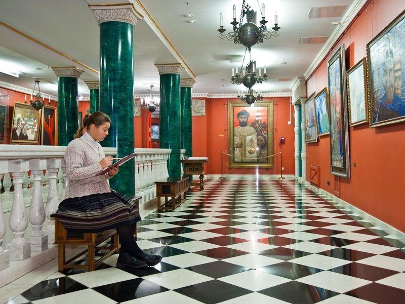 Экскурсия Лестница одиночества: шедевры галереи Глазунова