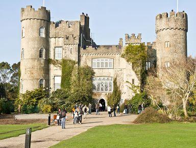 Ирландские древности: дольмены долины Бойн и замок Малахайд