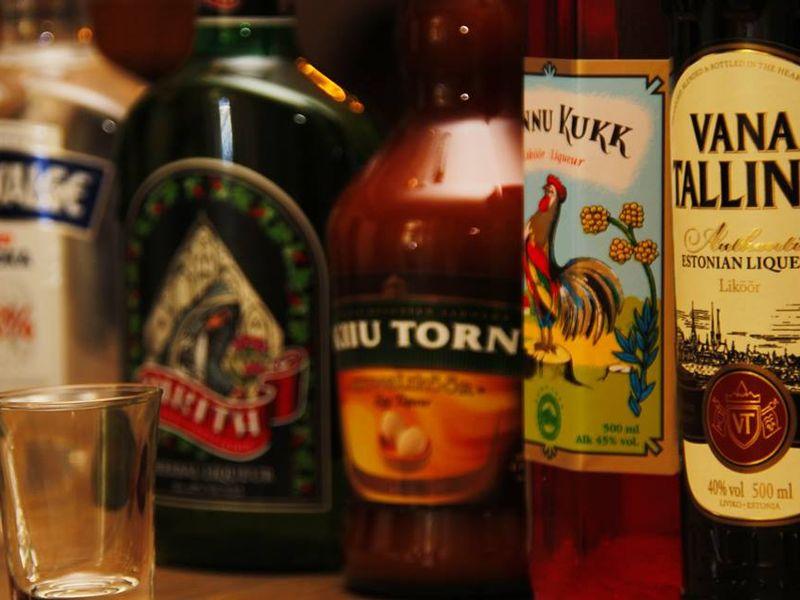 Экскурсия Алкогольный Таллин, или дегустация эстонских ликеров