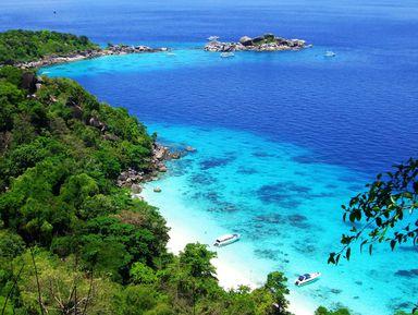 Пляжи иподводный мир Симиланских островов