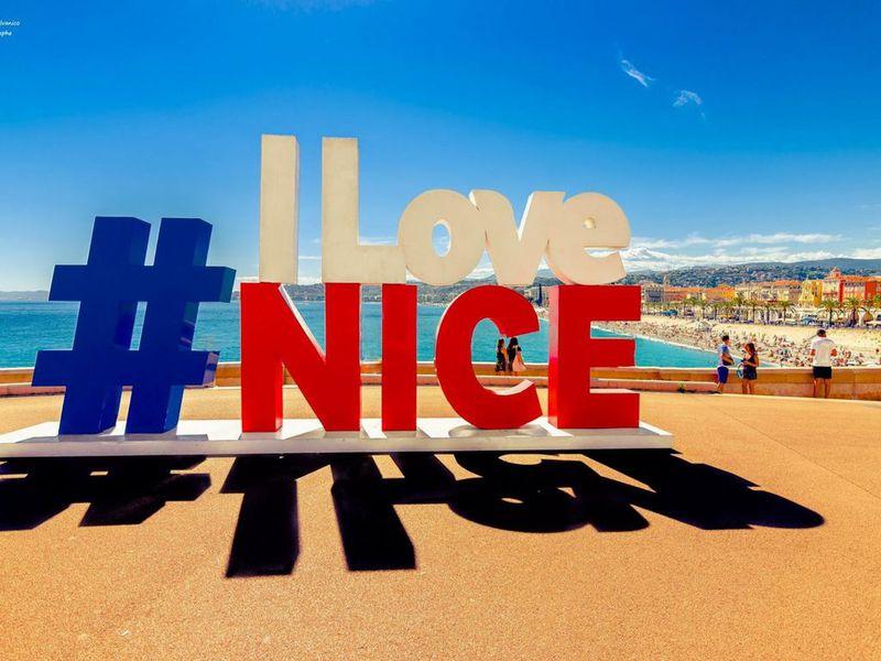 Онлайн-прогулка по солнечной Ницце