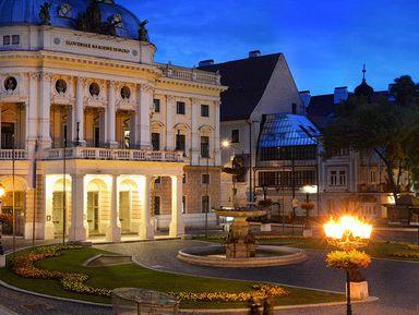 Братислава— тёмная жемчужина Дуная