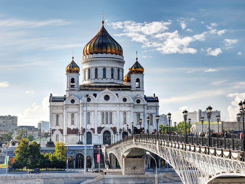 Экскурсия Автомобильная обзорная экскурсия по Москве