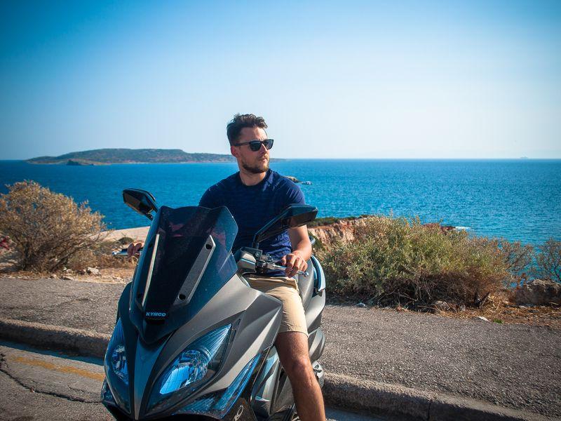 Экскурсия Мотопрогулка по Афинской Ривьере