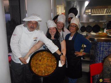Экскурсия в Валенсии: Готовим паэлью по-Валенсийски!