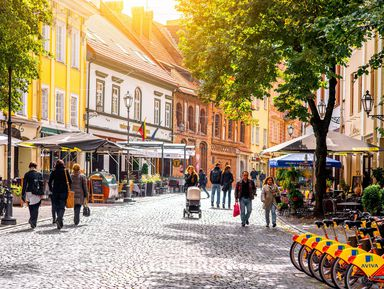 Экскурсия : Вильнюс — любовь с первого взгляда