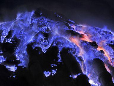 Ночь навулкане Иджен