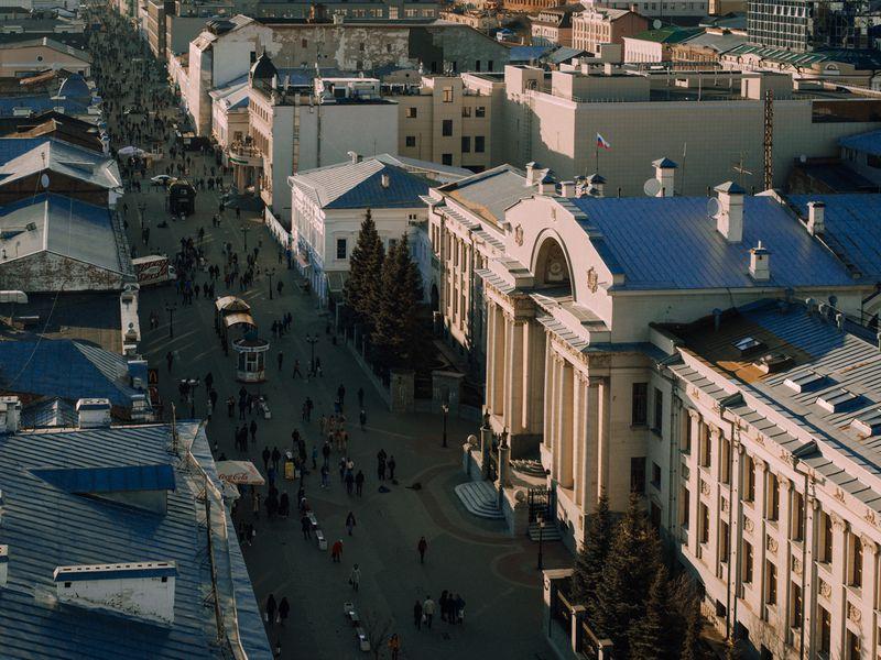 Казань на автомобиле с панорамной крышей