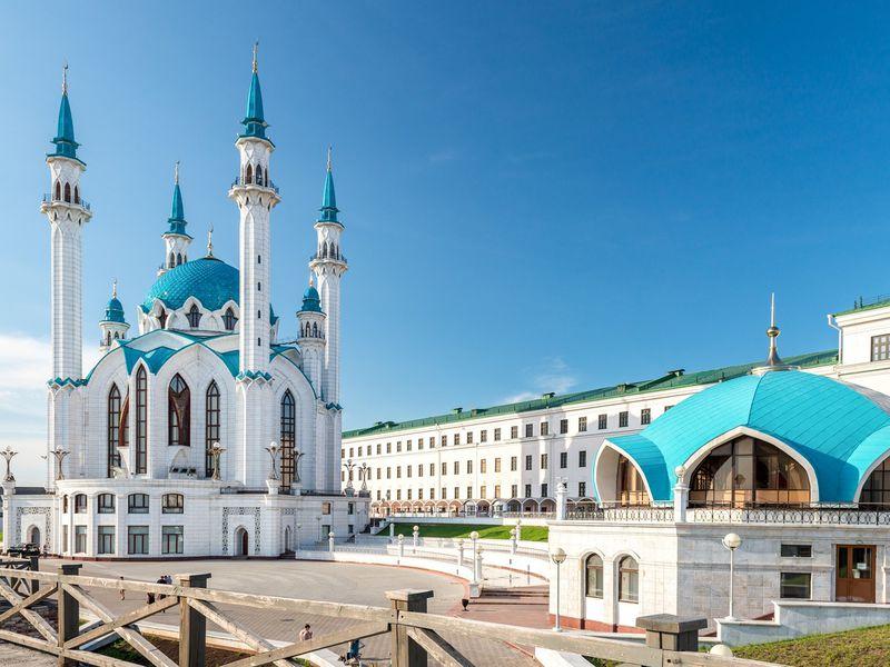 Большое знакомство с Казанью