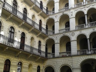 Дворы Будапешта: тайная жизнь города