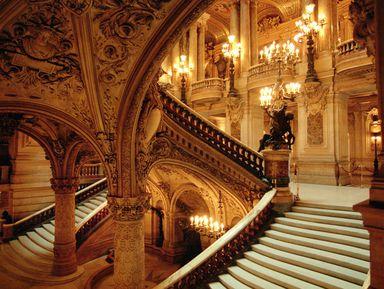 Опера Гарнье. Загадочная и великолепная