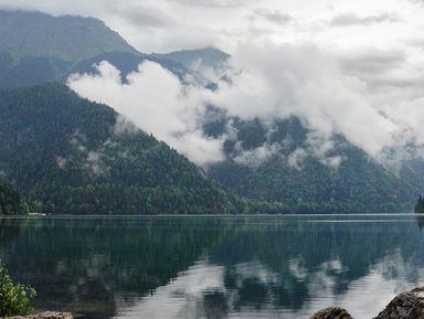 Старинная Гагра: владения принца и озеро Рица