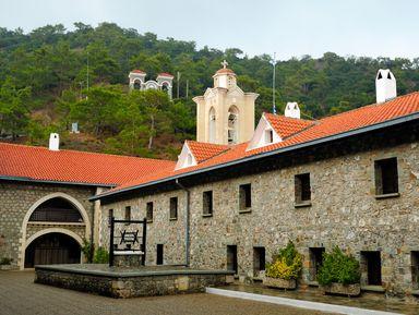 Главные монастыри Кипра