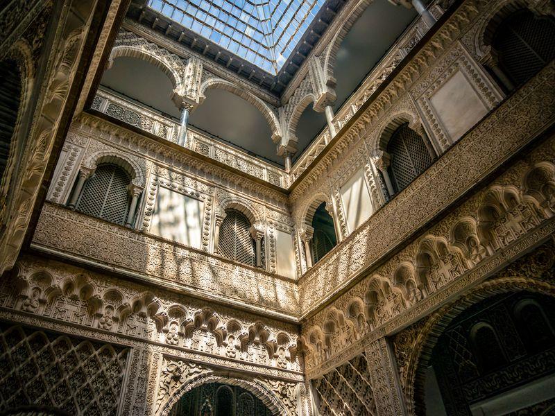 Севильский собор икоролевский дворец Алькасар
