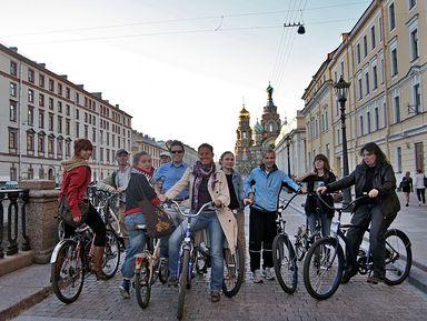 """Экскурсия """"Вело-экскурсия «Весь Петербург за 2 часа»"""": фото"""
