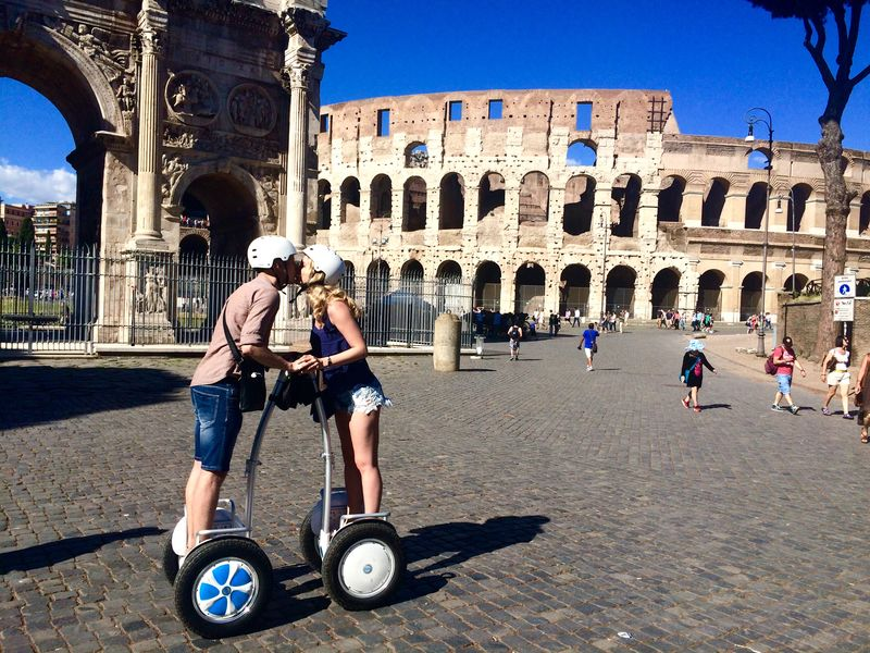 Экскурсия По Риму на Segway