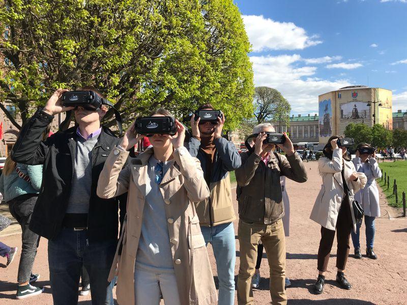 Экскурсия Петербург— сквозь очки виртуальной реальности