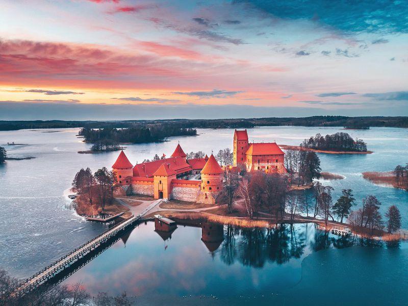 Экскурсия Из Вильнюса — в старинный Тракай!