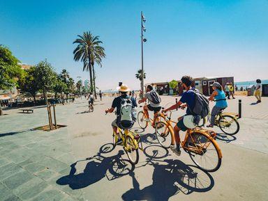 Вело-знакомство с современной Барселоной