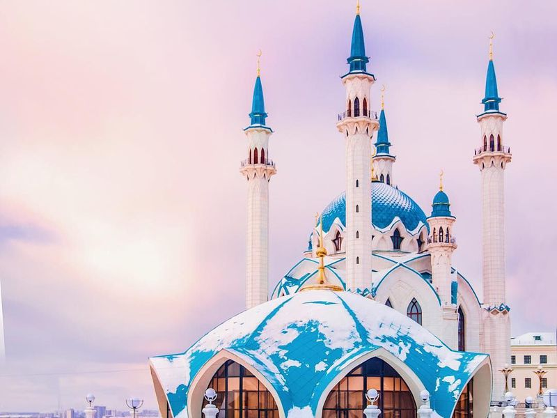 Казанский Кремль вдоль и поперек