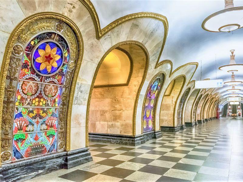 Экскурсия 7 чудес московского метро