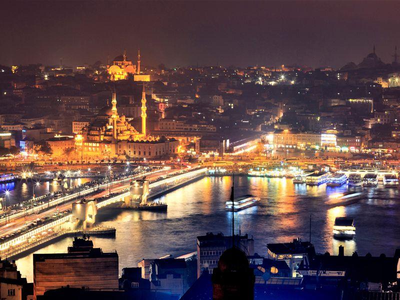 Круиз по вечернему Босфору