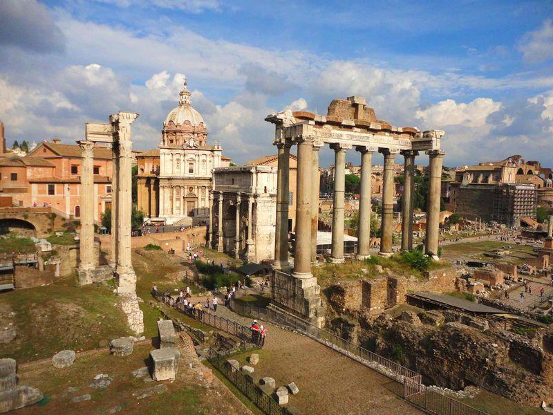Экскурсия Древний Рим: политика, религия, развлечения