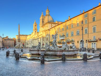 Величие римских площадей