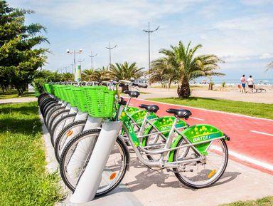 Велопрогулка по Батуми