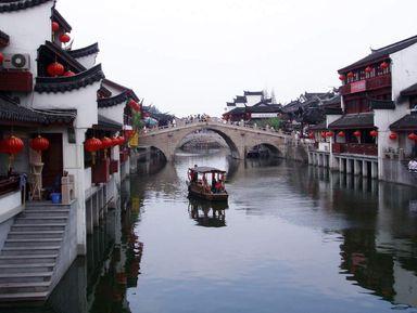 Экскурсия в Шанхае: Чжуцзяцзяо — шанхайская Венеция