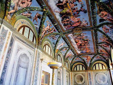 Вилла Фарнезина: фрески Рафаэля без людных музеев!