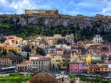 Экскурсии и гиды - Афины