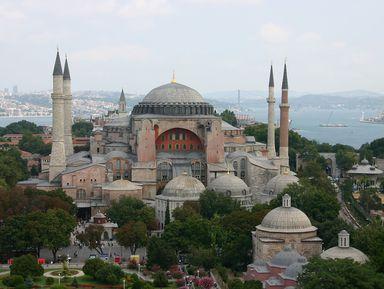 Стамбул на стыке ислама и христианства