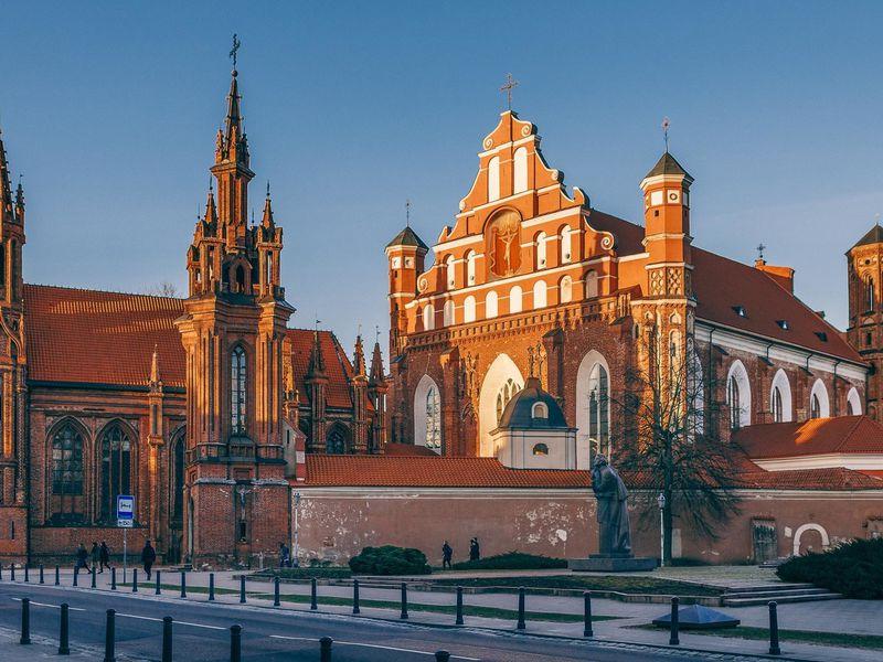 Экскурсия Чудеса и легенды Вильнюса
