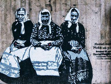 Уличное искусство Хельсинки