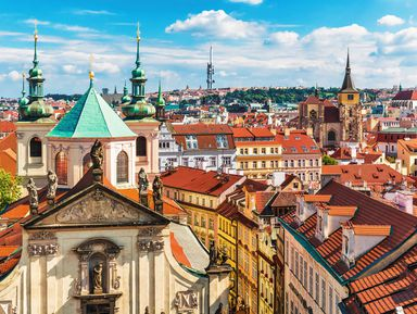 Добро пожаловать в Прагу!