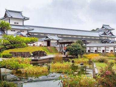 Онлайн-прогулка поКанадзаве «Замок самураев идревний храм Ояма»