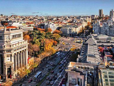 Четыре Мадрида иодна улица
