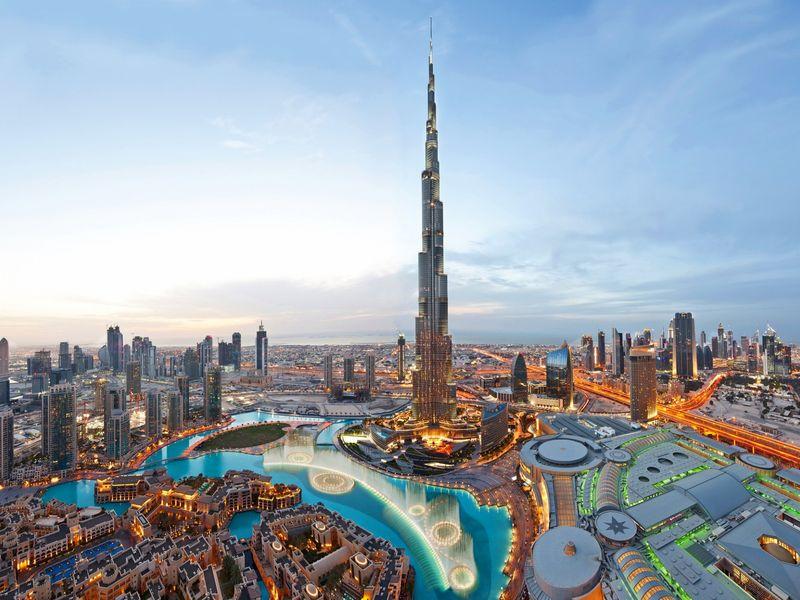 Экскурсия Первый день в Дубае