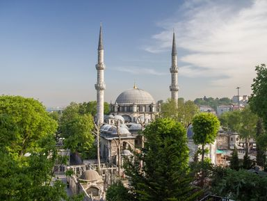 Стамбул: прогулка по древнему району Эйюп