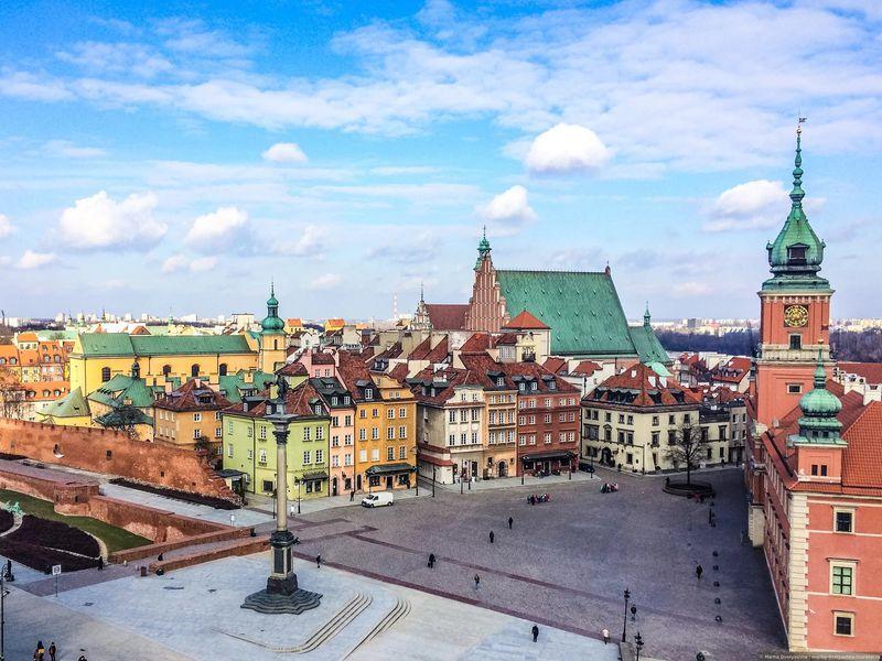 Варшава, экскурсия