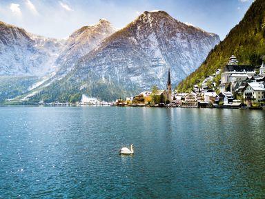 Гальштат — альпийская открытка