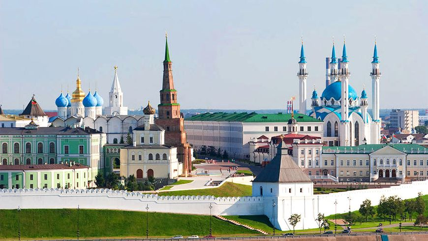 Казанский Кремль сквозь века