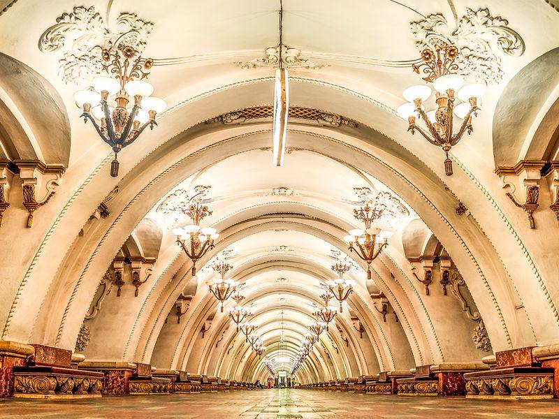 Экскурсия Московское метро: город под городом