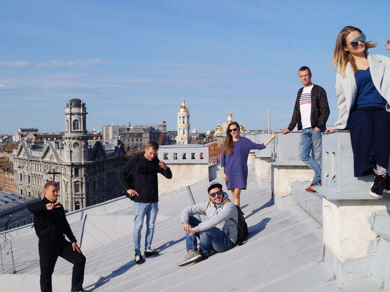 Экскурсия От крыши к крыше в центре Петербурга