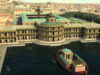 Золотой дом Нерона— оценить размах императорских амбиций