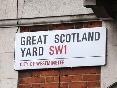 Скотланд-Ярд и знаменитые лондонские преступления